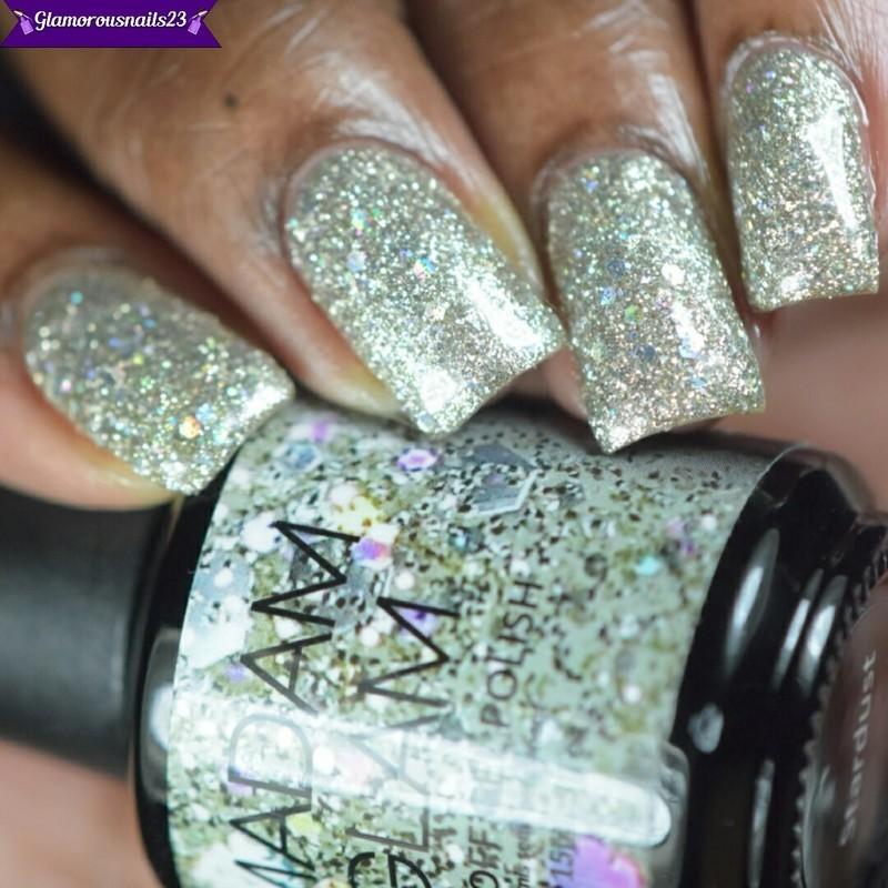 Madam Glam Stardust Swatch by glamorousnails23