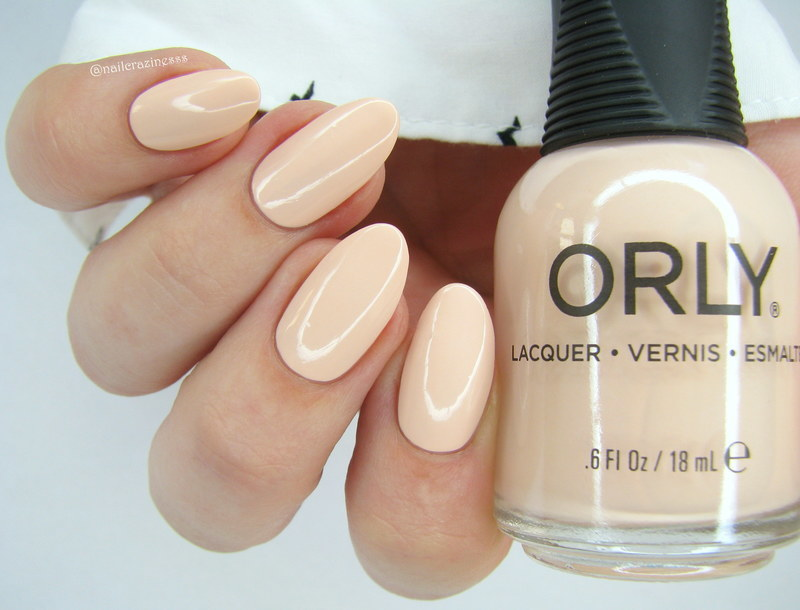 Orly Cyber Peach Swatch by Nail Crazinesss
