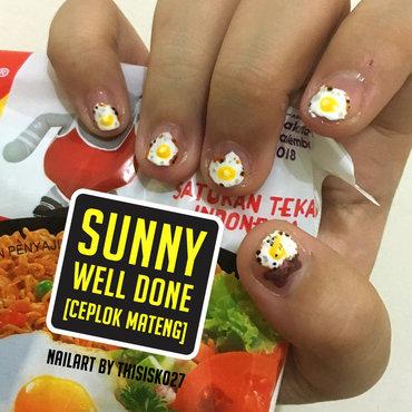 Sunny Well Done Nailart nail art by K027 (Nabila)