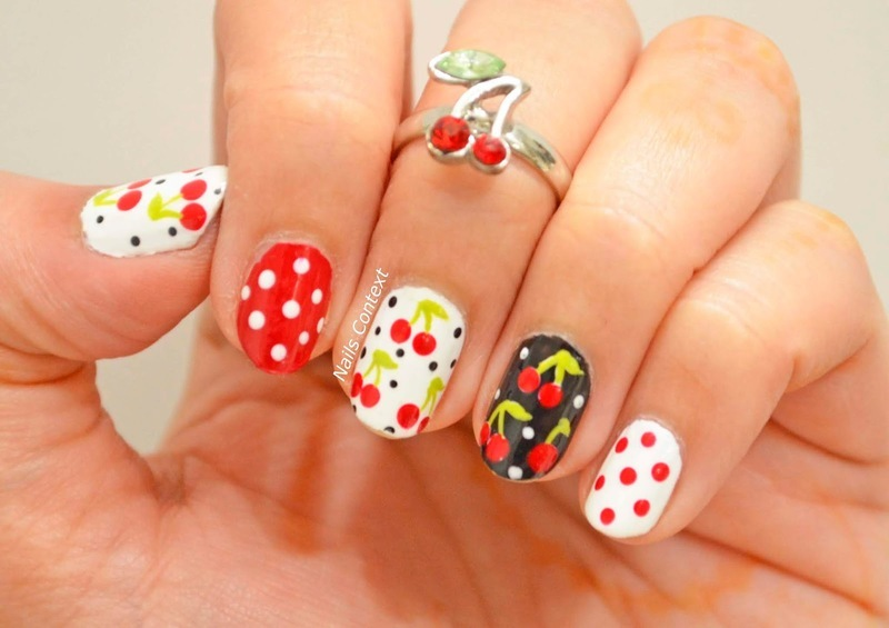 Cherry On Top nail art by NailsContext