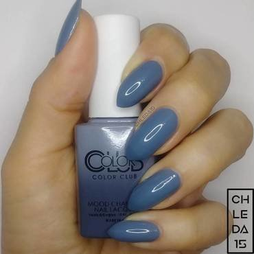"""Color Club AMP06 """"Head in the Clouds"""" Swatch by chleda15"""