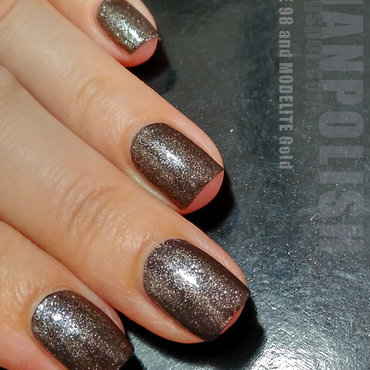 Code 98 and modelite Gold Swatch by Lian