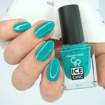 Golden Rose Ice Chic 83 Swatch by Nail Crazinesss