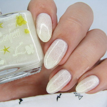 El Corazon Confetti 531a Swatch by Nail Crazinesss
