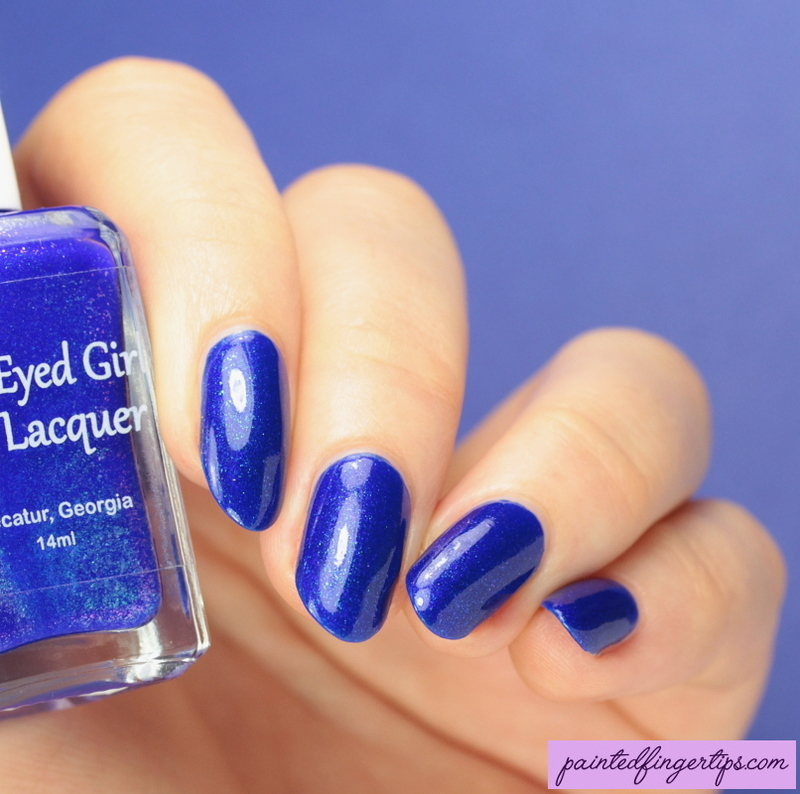 Blue-Eyed Girl Lacquer Tiny Artworks Swatch by Kerry_Fingertips