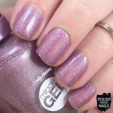 Sally hansen sunset splash purple holo zig zag distressed french tip nail art 4 thumb370f