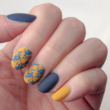 Friday Triad: inspired by @ladyandthe_stamp nail art by What's on my nails today?