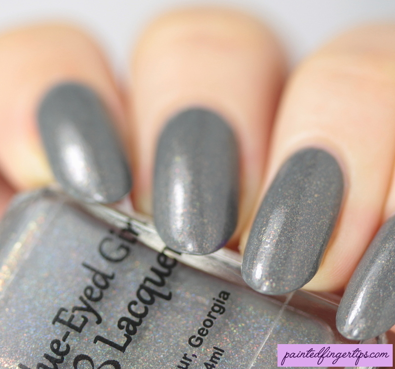 Blue-Eyed Girl Lacquer Excellent Day for an Exorcism Swatch by Kerry_Fingertips