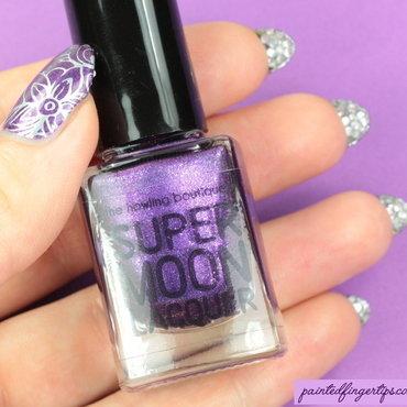 Painted fingertips bling thumb370f