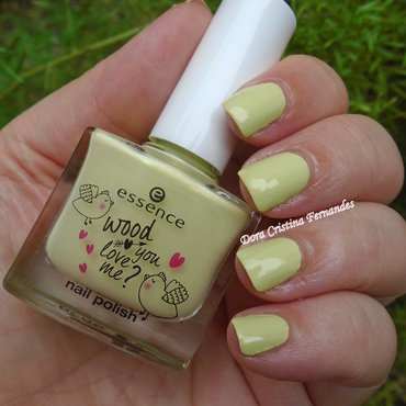 Essence Wood You Love Me? 02 Soulmate Swatch by Dora Cristina Fernandes