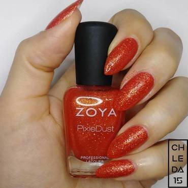 "Zoya ZP676 ""Destiny (Pixie Dust)"" Swatch by chleda15"