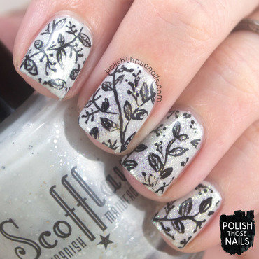 Black & White Classics nail art by Marisa  Cavanaugh
