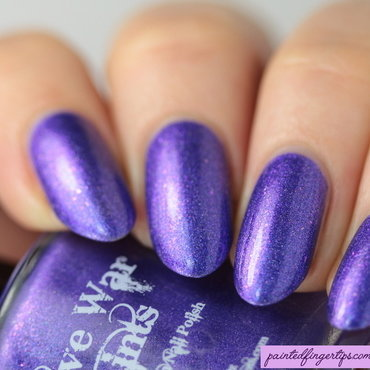 Native War Paints Verbena Swatch by Kerry_Fingertips