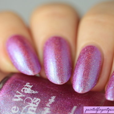 Pink skyline swatch native war paints polish con thumb370f