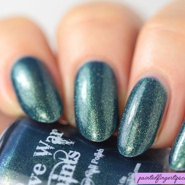 Native War Paints Niizh Swatch by Kerry_Fingertips