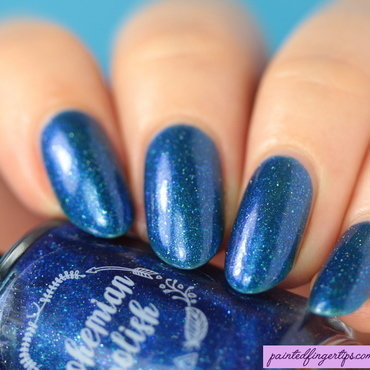 Bohemian Polish Fresh to Depth Swatch by Kerry_Fingertips