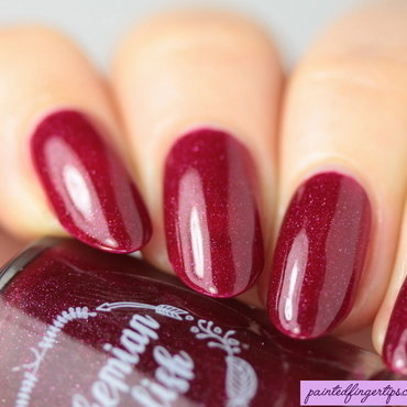 Bohemian Polish Lingon Me Swatch by Kerry_Fingertips