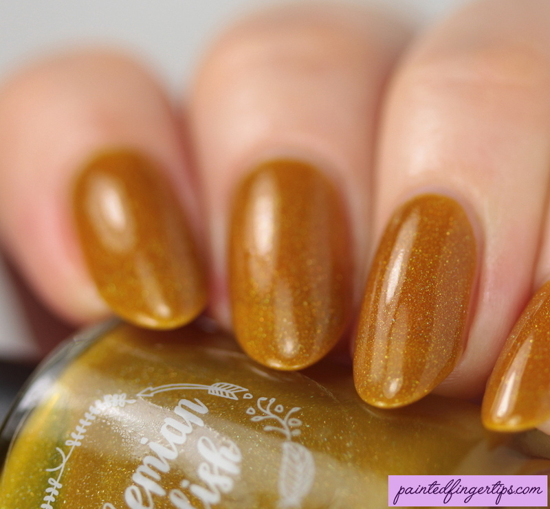 Bohemian Polish You're A-maize-ing Swatch by Kerry_Fingertips