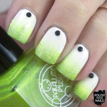 Eyes-On Gradient-Off nail art by Marisa  Cavanaugh