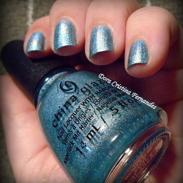 China Glaze Ma-Holo At Me Swatch by Dora Cristina Fernandes