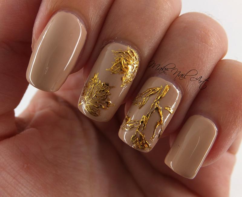Autumn nail art by Make Nail Art