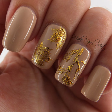 Autumn nail art by Make Nail Art
