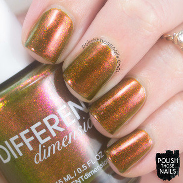 Different Dimension Fortune Favours The Brave Swatch by Marisa  Cavanaugh