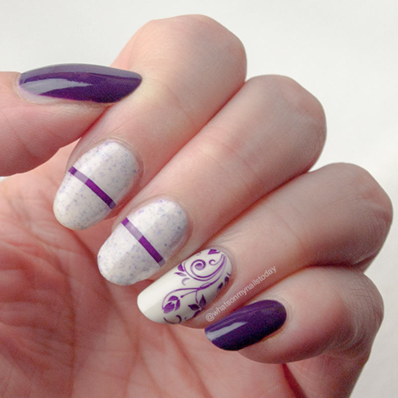 Friday Triad: inspired by @son_nails nail art by What's on my nails today?