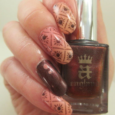 Officially Fall nail art by NinaB