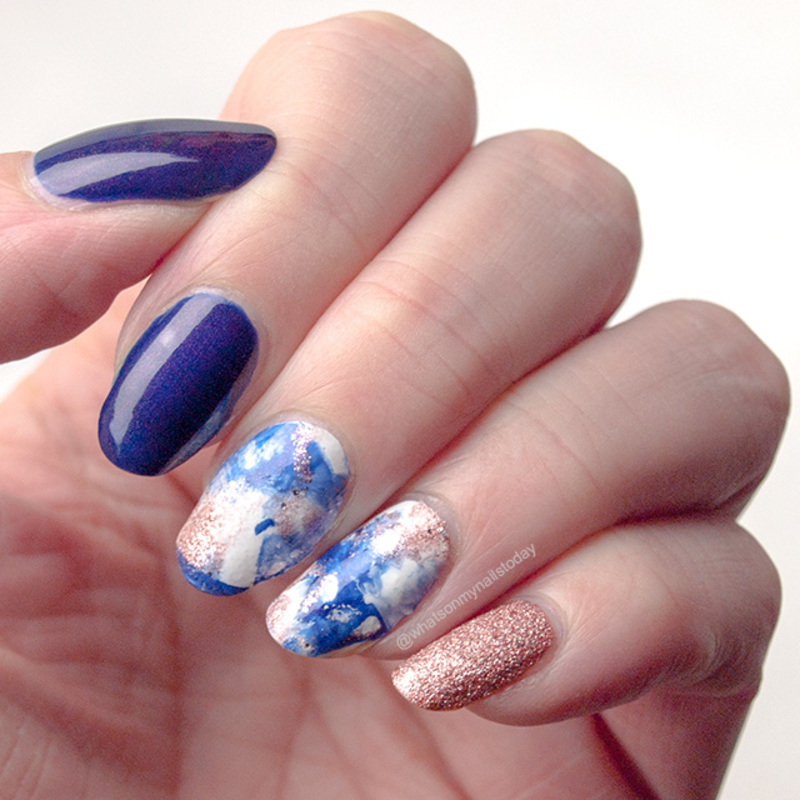 #52weeknailchallenge - week 39: Smoosh nail art by What's on my nails today?