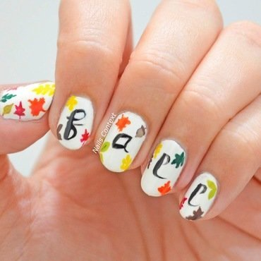 Hello Fall ! nail art by NailsContext