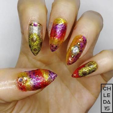2018 #41 nail art by chleda15