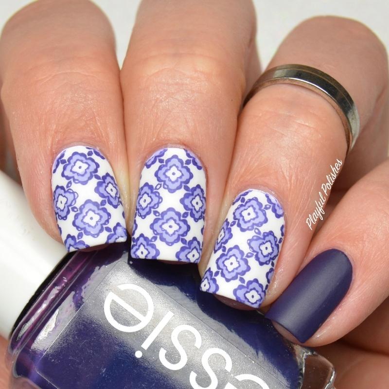 Moroccan Nails nail art by Playful Polishes