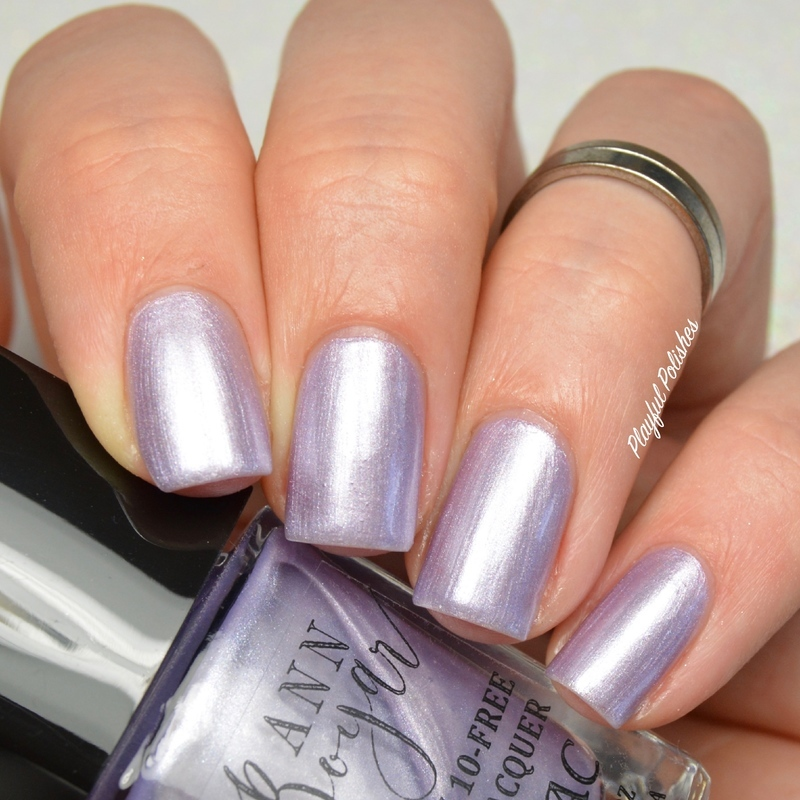 Ann Boyar Lilac Swatch by Playful Polishes