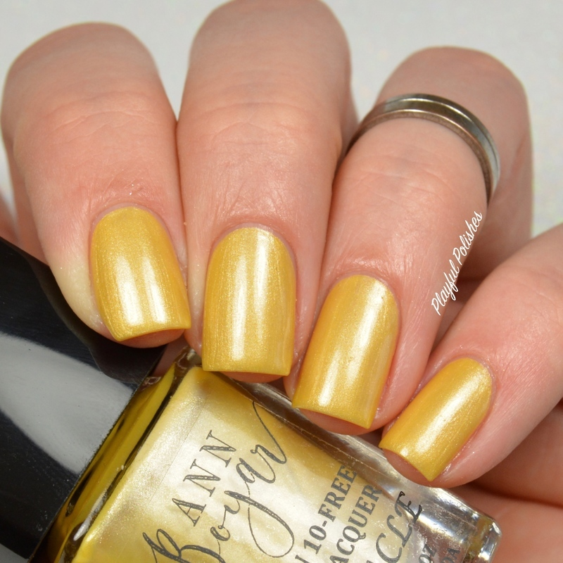 Ann Boyar Miracle Swatch by Playful Polishes