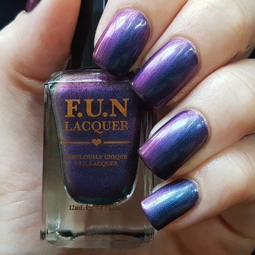 F.U.N Lacquer Eternal love Swatch by Emmelie Slotboom
