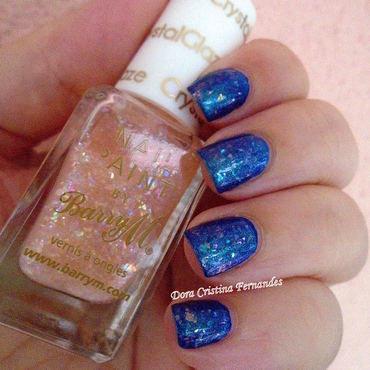 Crystal Glaze nail art by Dora Cristina Fernandes