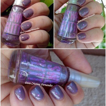 Franken Nail Polish I Sweat Glitter ( By Me ) Swatch by Dora Cristina Fernandes