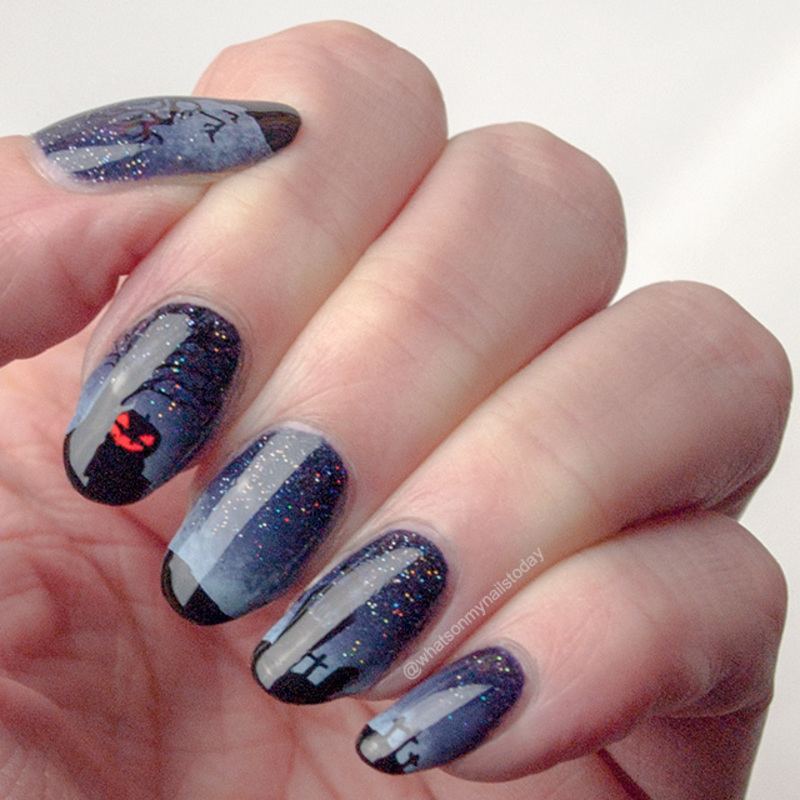 Friday Triad: inspired by Bedizzlenails nail art by What's on my nails today?