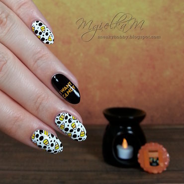 Candy - #glamnailschallengeoct  nail art by Mgielka M