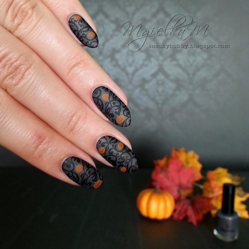 Pumpkins - #glamnailschallengeoct  nail art by Mgielka M