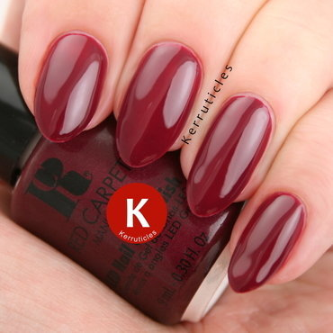 Red Carpet Manicure Gowning Achievement Swatch by Claire Kerr