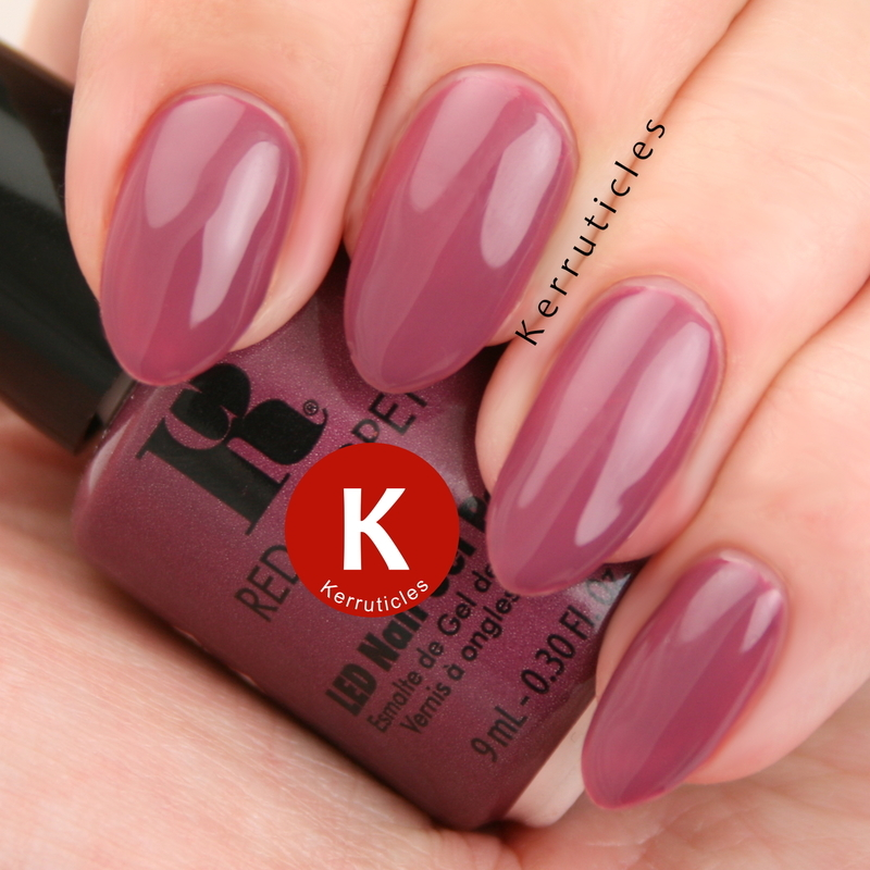 Red Carpet Manicure Lavish & Luxurious Swatch by Claire Kerr
