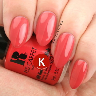 Red Carpet Manicure Stole The Show Swatch by Claire Kerr