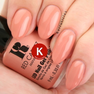 Red Carpet Manicure VIP Treatment Swatch by Claire Kerr