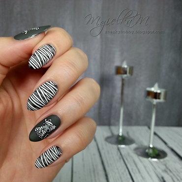 Mummy - #glamnailschallengeoct  nail art by Mgielka M