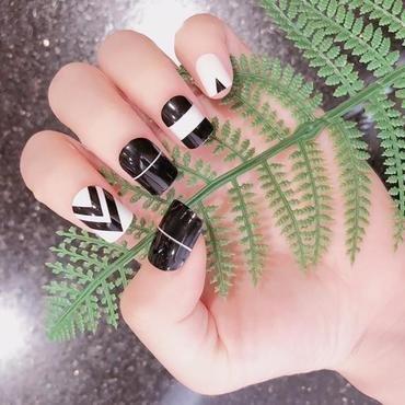 False Nails nail art by beautybigbang