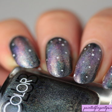 Holo galaxy nails thumb370f