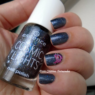 Cosmic Lights nail art by Dora Cristina Fernandes