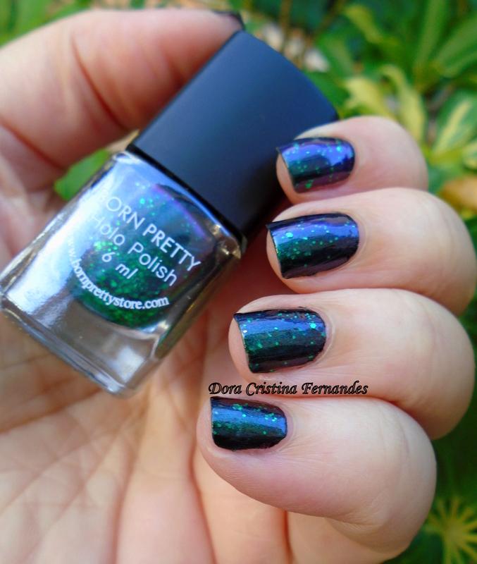 Born Pretty Store Chameleon Polish #33 Swatch by Dora Cristina Fernandes